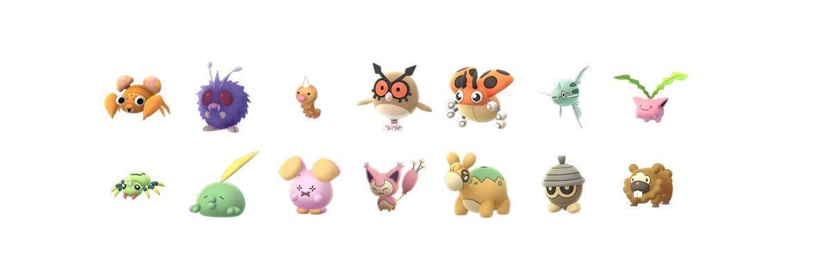 Pokemon en los que Ditto esta transformado en enero de 2020