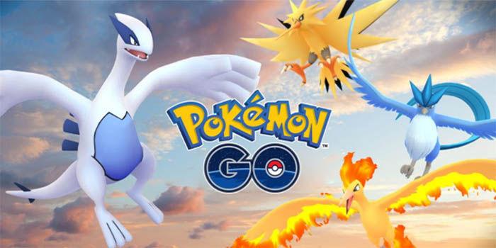 Pokemones legendarios de pokemon Go