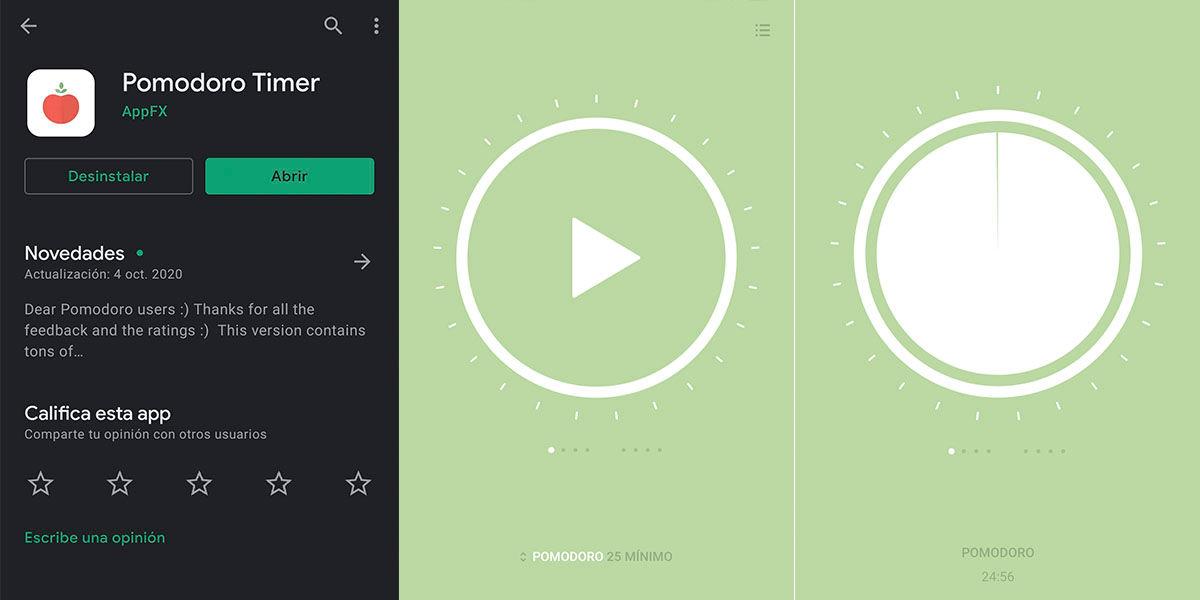 Pomodoro apps para tu móvil nuevo