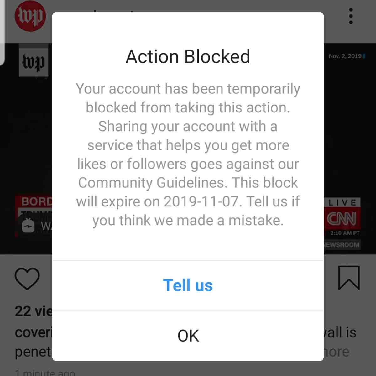 ¿Por qué pueden bloquear tu cuenta de Instagram?