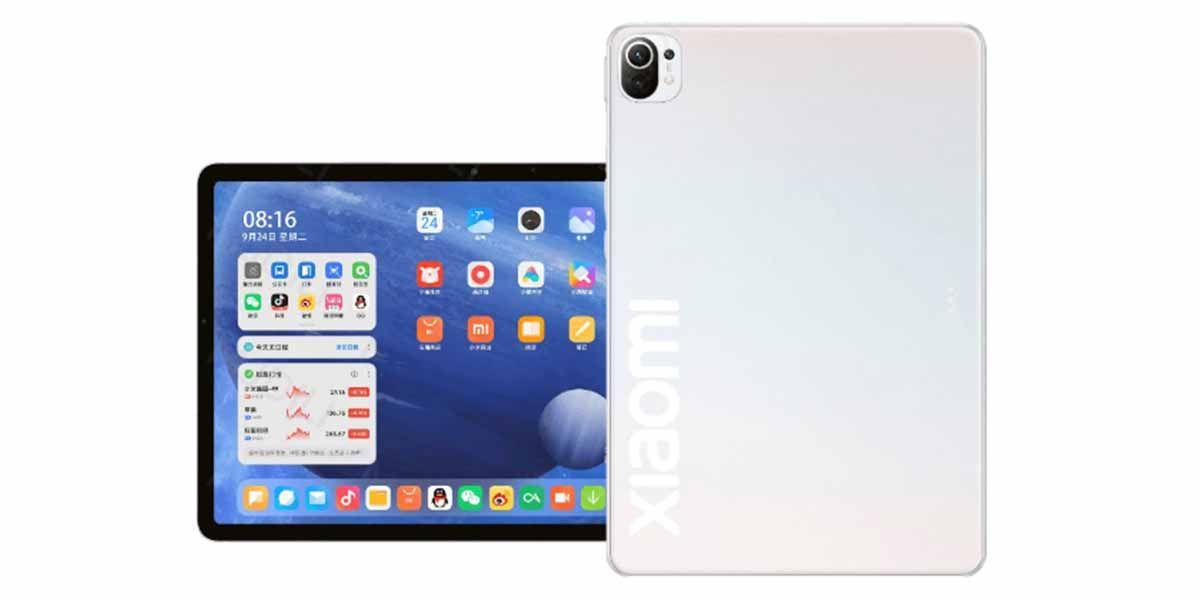 Posibles especificaciones de la Mi Tab 5 Pro Mi Tab 5 y Mi Tab 5 Lite