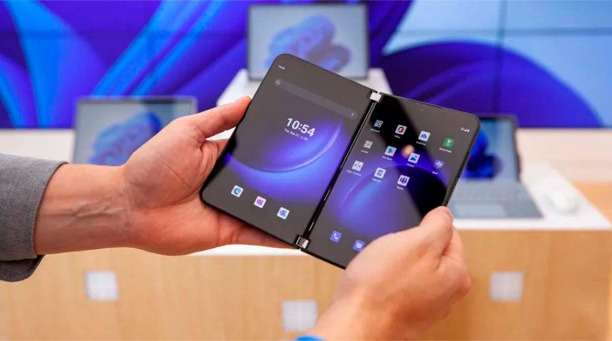 Potencia rendimiento funciones Surface Duo 2
