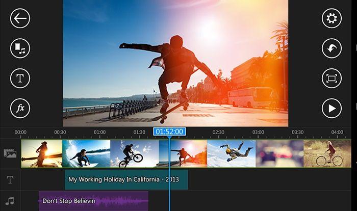 PowerDirector editor de videos android