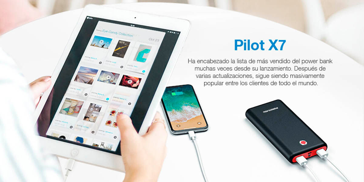 Powerbank Poweradd Pilot X7