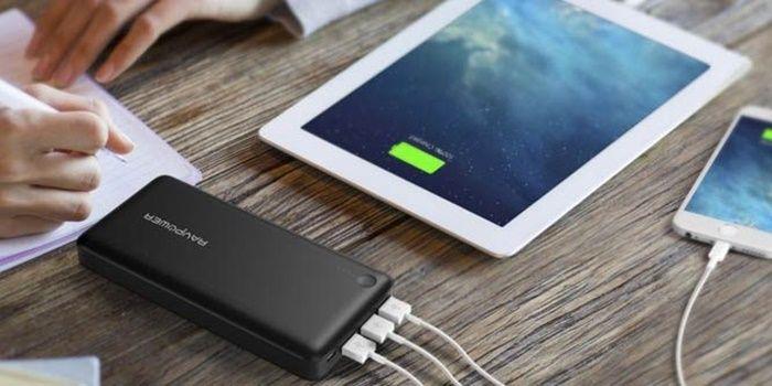 Powerbank para cargar múltiples dispositivos