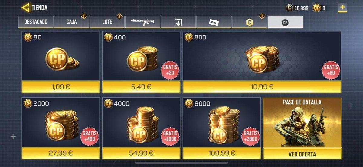 Como comprar de forma correcta el pase de batalla de COD Mobile