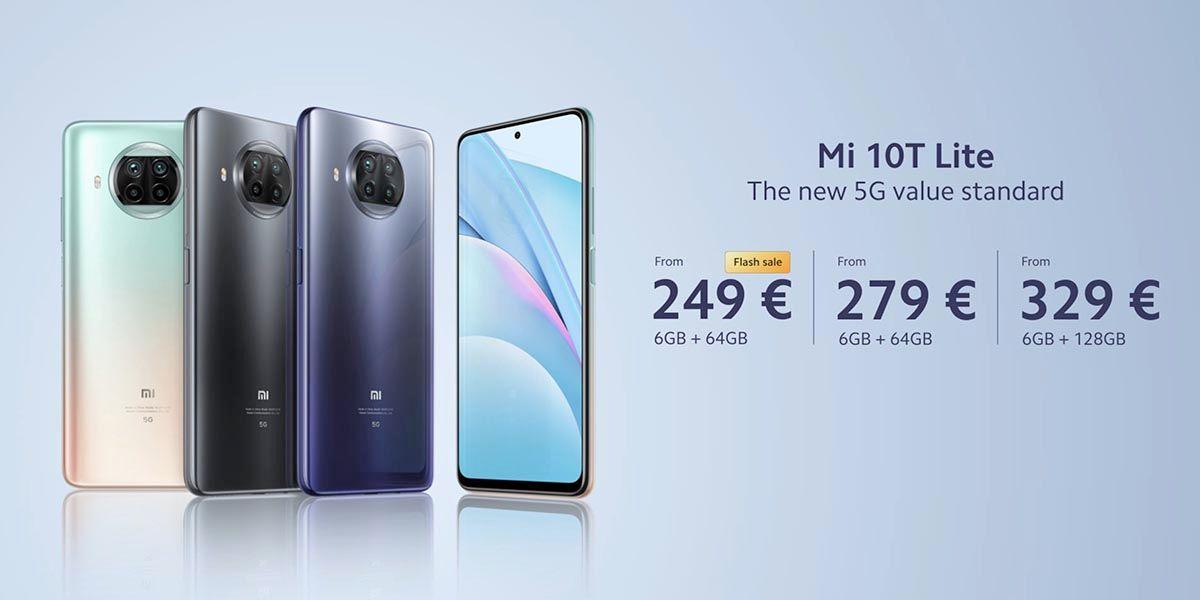 Precio Xiaomi Mi 10T Lite
