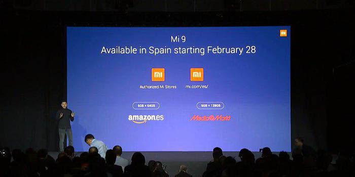 Precio y lanzamiento del Xiaomi Mi 9 en España
