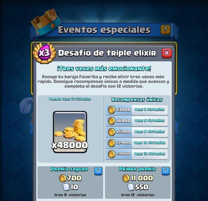 Premios desafio triple elixir