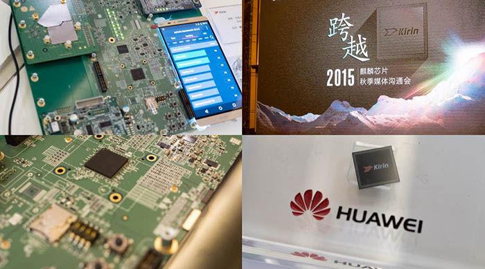 Presentación Huawei Kirin 950