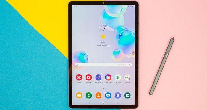 Primera Samsung tablet 5G