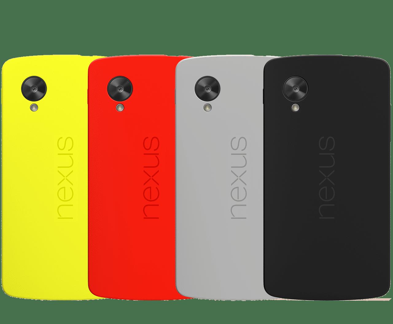nexus 5 capacidad
