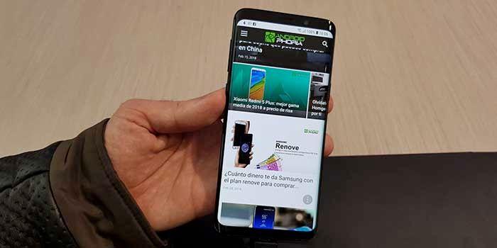 Primera actualizacion Galaxy S9