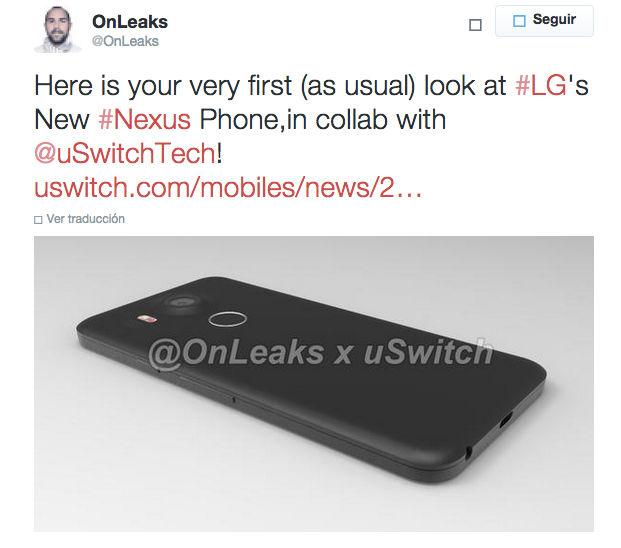 Primeras imágenes del Nexus 5 2015