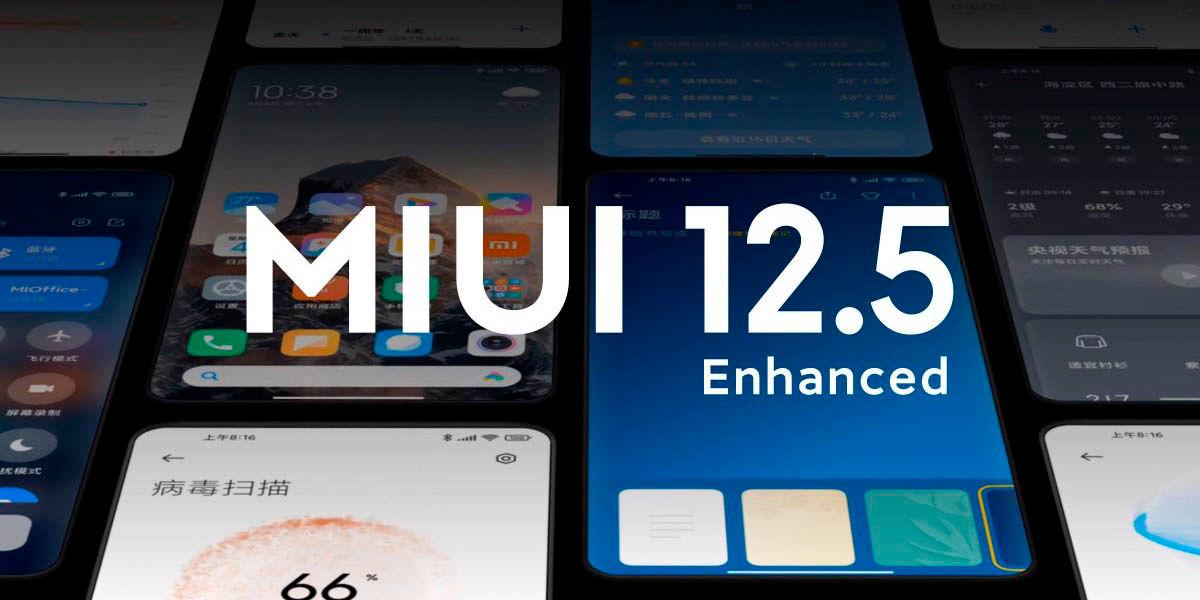 Primeros móviles Xiaomi que actualizarán a MIUI 12.5 Enhanced Edition en España
