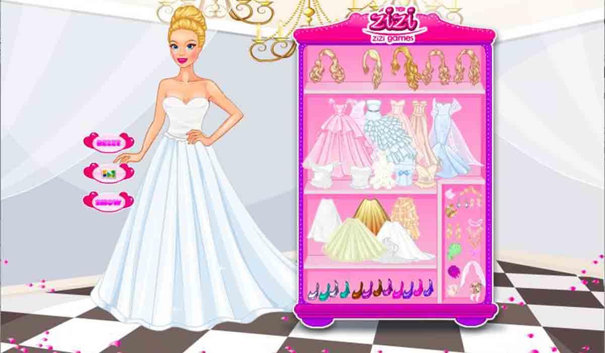 Princess Wedding Bride juego de vestir