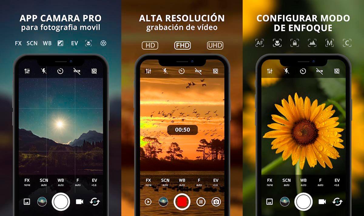ProCam X para Android