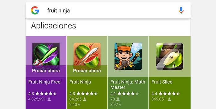 Probar Instant Apps en Espana