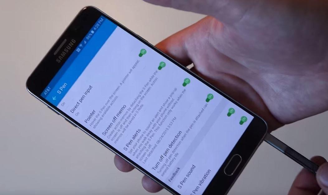 Problema al detectar S-Pen en Note 5