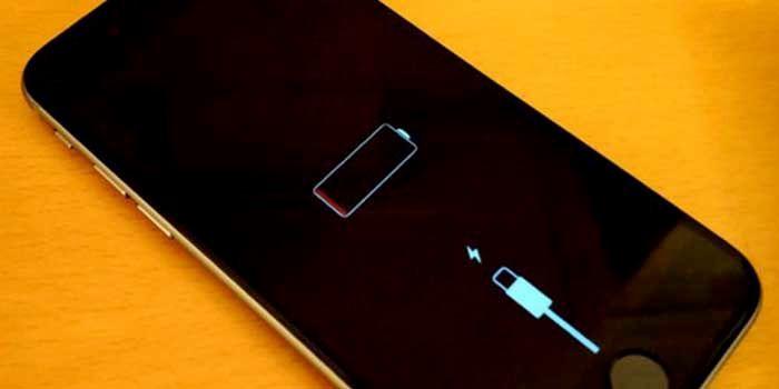 Problema bateria iphone 6