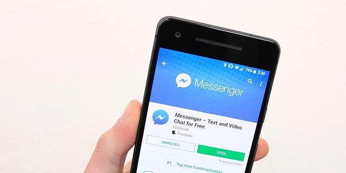 Problema con Messenger de Facebook