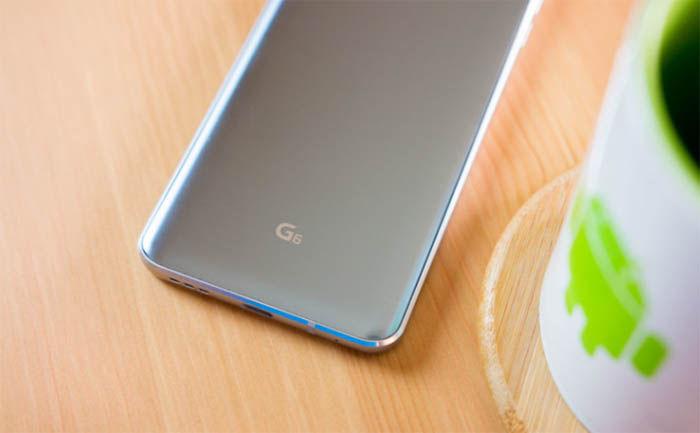 Problemas de accidente con el LG G6