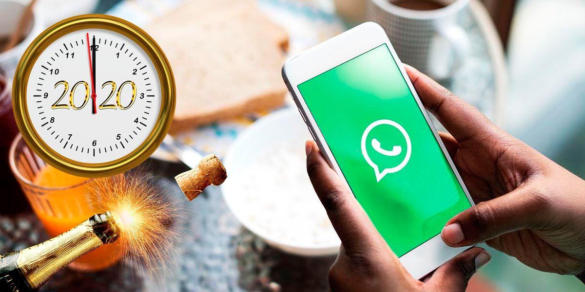 Programar felicitaciones de Fin de Año WhatsApp
