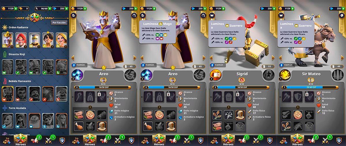 Pro e contro eroi Rivengard