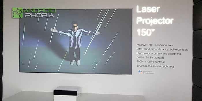 Proyector laser 150 pulgadas Xiaomi