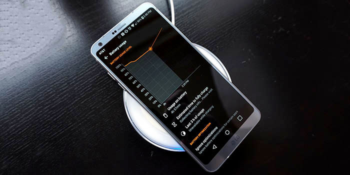 Prueba bateria LG G6