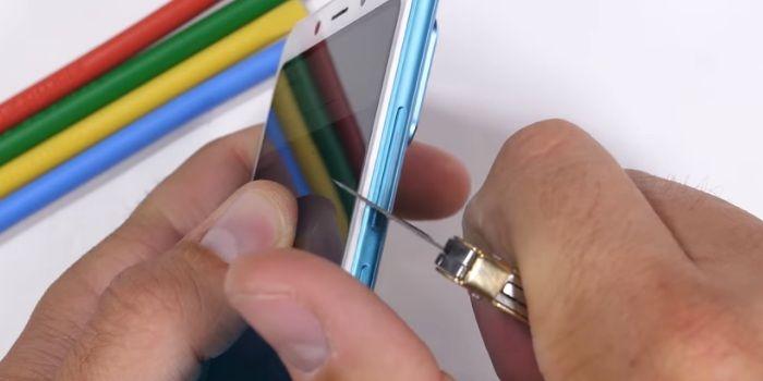 Prueba resistencia botones de volumen Redmi Note 5