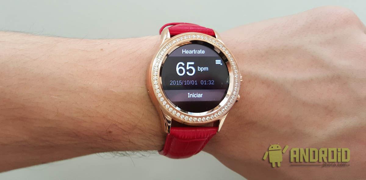 Pulsómetro NO.1 D2 Smartwatch