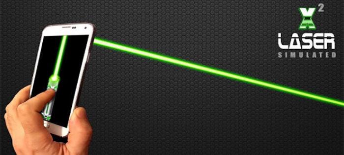 Puntero láser para Android