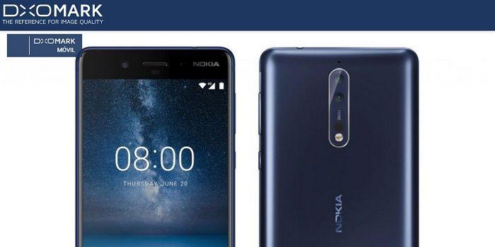 Puntuación 8 Nokia DxOMark