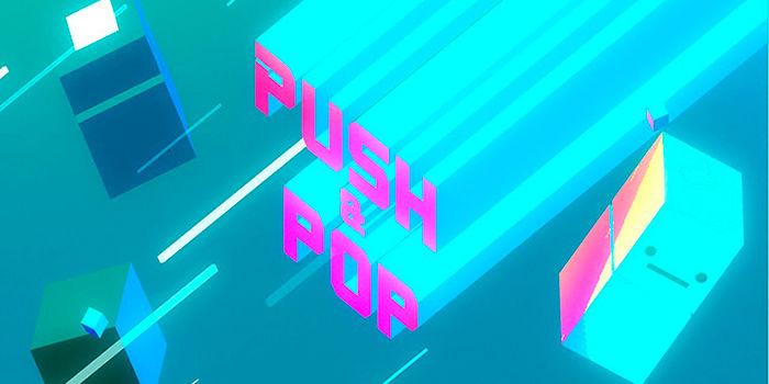 Push y pop juego de tetris
