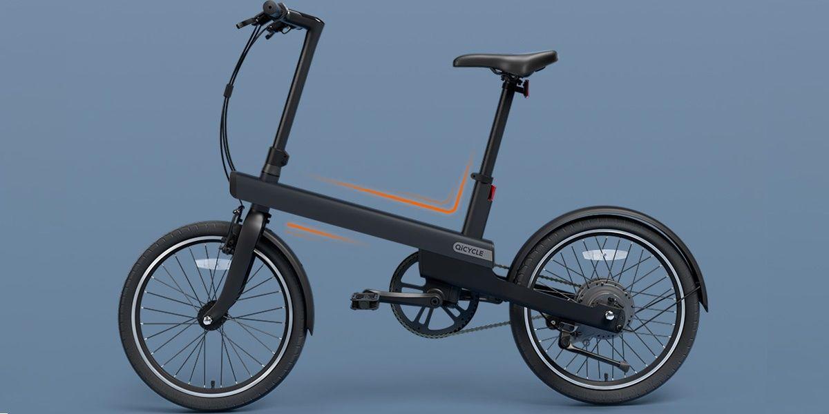 Qiji Electric Power Bike Black Standard Edition