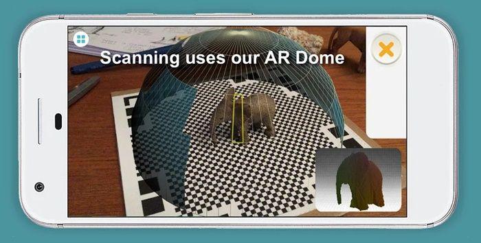 Qlone app de escaner 3D y realidad virtual