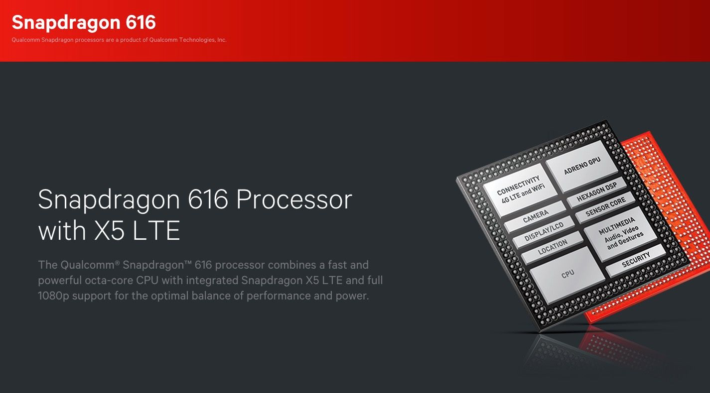 Qualcomm Snapdragon 616