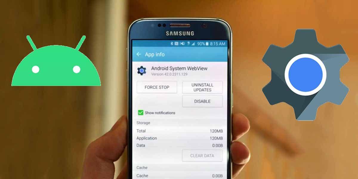 Qué es el Android System Webview y por que lo necesita tu móvil