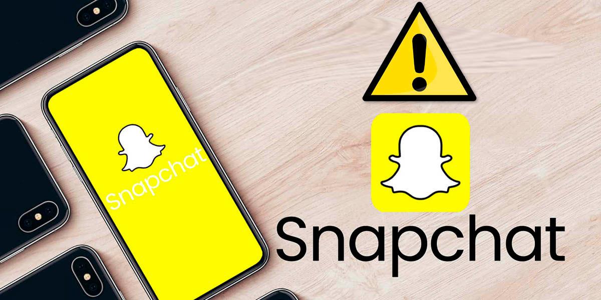 Que hacer Snapchat no carga falla al subir fotos