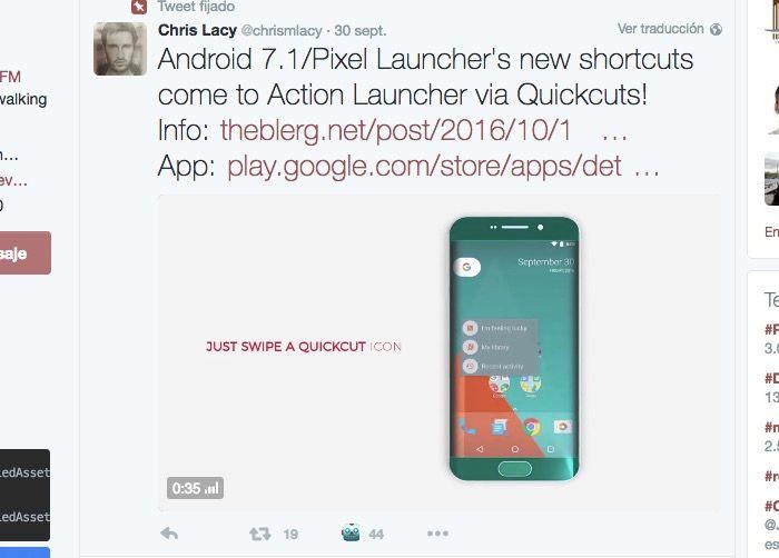 quickcuts-para-android