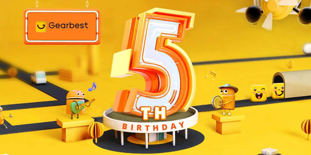 Quinto aniversario GearBest