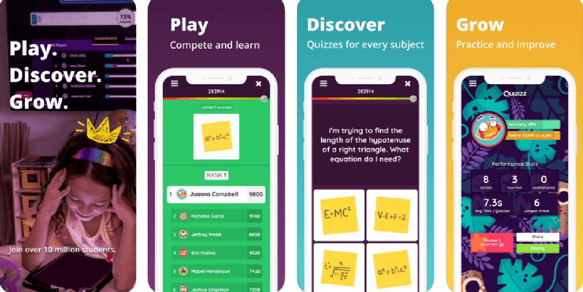 Quizizz app alternativa Kahoot