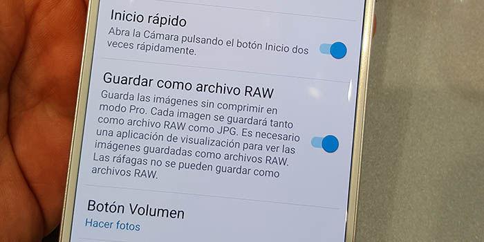 RAW Galaxy S7