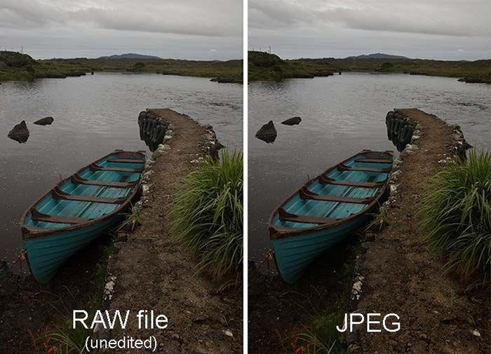 RAW formato imagen