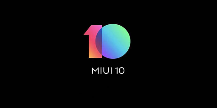 ROM MIUI 10 disponible