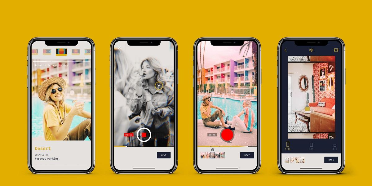 RTRO, la app que usan los influencers para grabar videos vintage