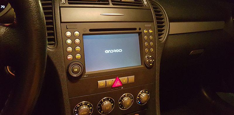 Radio Android para MB SLK 2000-2011