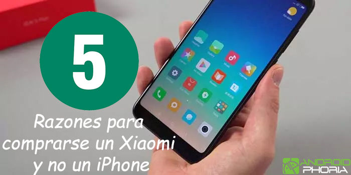 Razones para comprarse un Xiaomi y no un iPhone