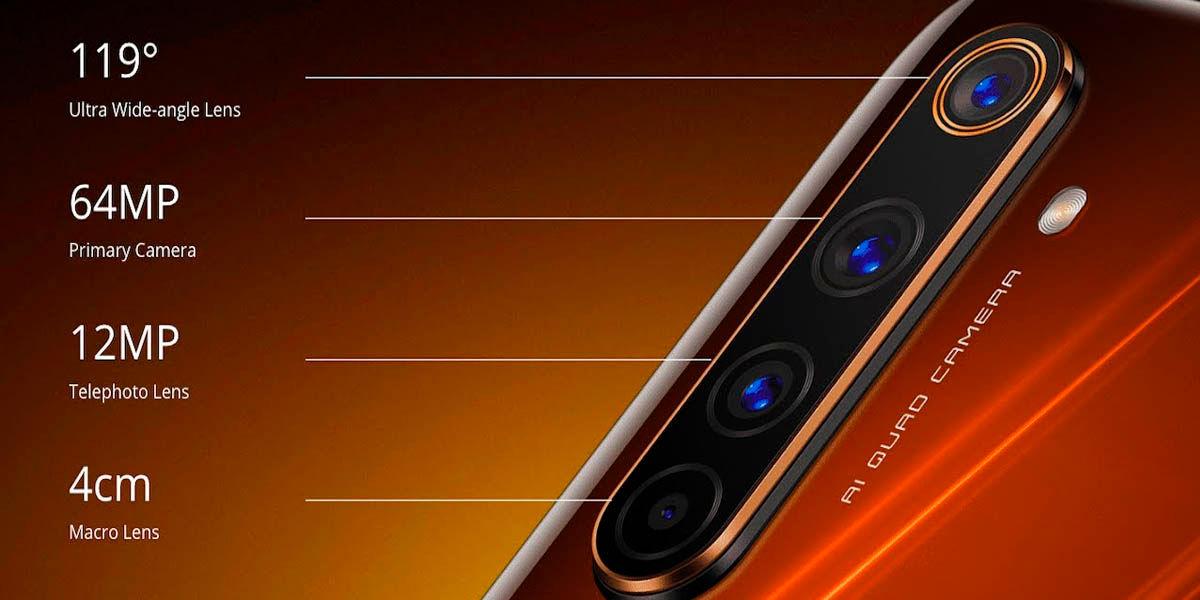 Realme 6 pro mejor cámara gama media android 2020
